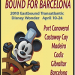 Bound For Barcelona – Our Last Day At Sea