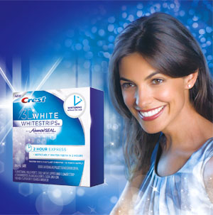 Crest 3D White 2 Hour Express Whitestrips Giveaway - Three