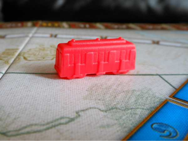 Ticket To Ride Three Different Directions