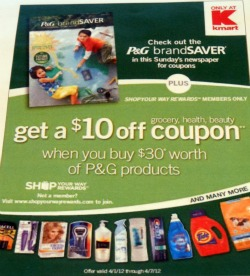 Give Away Procter Amp Gamble And Kmart Prize Pack Three