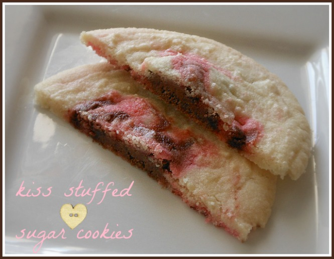 Kiss Stuffed Sugar Cookies ~ Quick, Simple & Yummy - Three Different ...