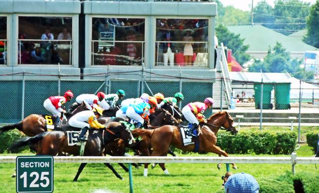Churchill Downs horse race