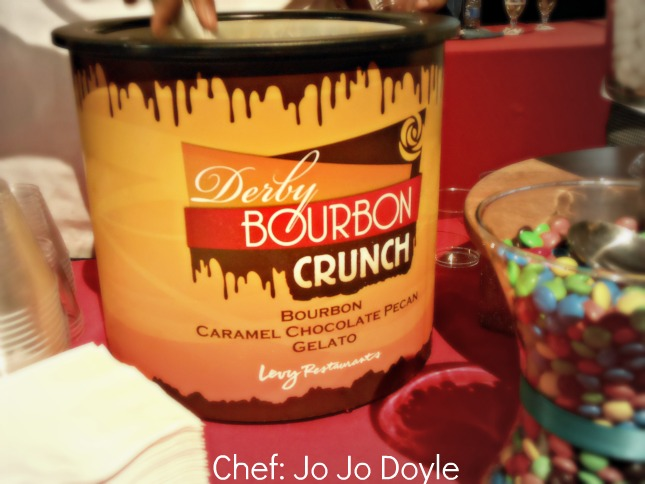 Derby Bourbon Crunch Ice Cream