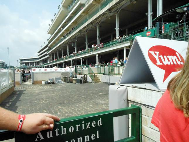 Churchill Downs Winner Circle