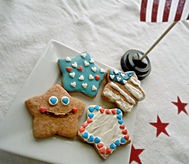 Star Spangled Cookies 4th of July