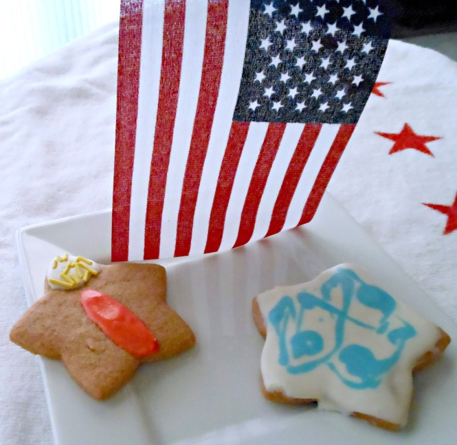 Sparkler Cookie Tie Dye Cookie 4th of July