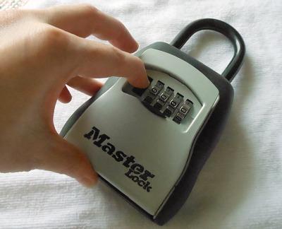 Master Lock Key Storage Lock Give Away Live Secure
