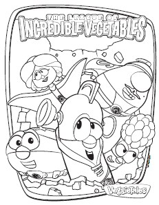 Free Veggie Tales Easter Coloring Pages, Download Free Clip Art ... | 298x231