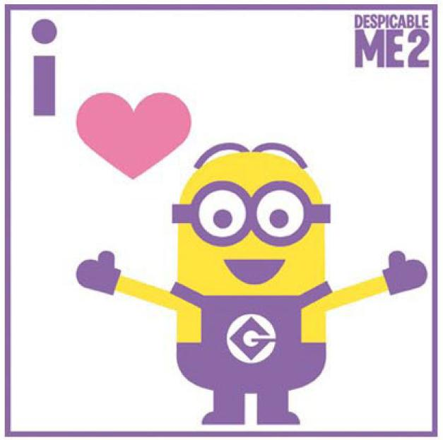 photo regarding You Re One in a Minion Printable referred to as Printable Minion Valentines - A few Substitute Guidelines