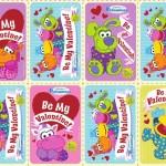 Pajanimals Printable Valentine's Day Cards