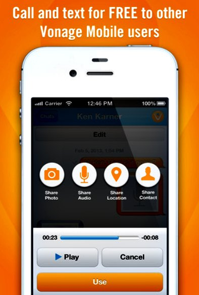 Free Mobile App - Vonage Mobile - Giveaway - Three Different