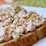 Chicken Salad with Apples & Radishes