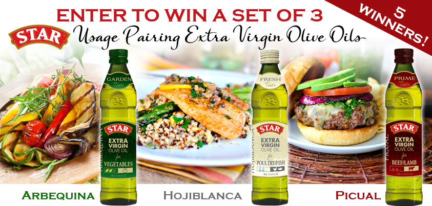 Enter to Win Star Usage Pairing Olive Oil #shop