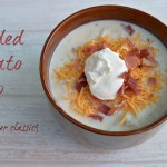 Loaded Potato Soup an eMeals Slow Cooker Classic Recipe