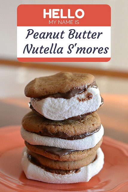 Peanut Butter Nutella S'mores