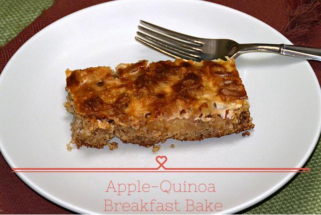 Apple-Quinoa Breakfast Bake