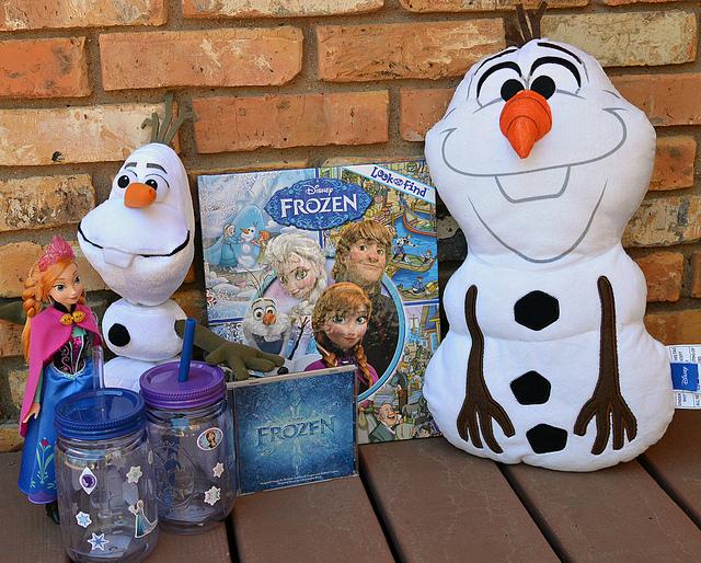 Disney FROZEN merchandise available at Walmart #shop