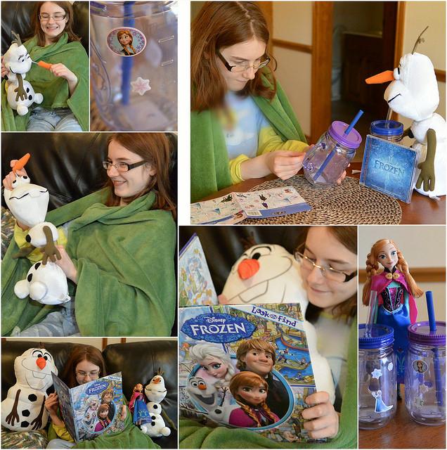 Walmart FROZEN Merchandise Collage #shop