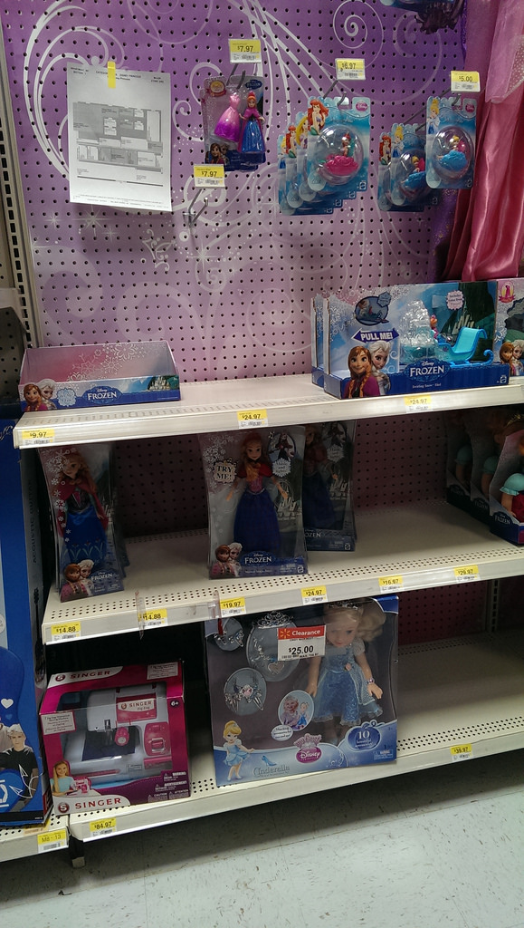 Disney FROZEN Walmart Toys #shop