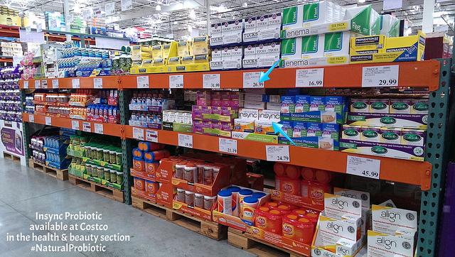 Insync Probiotic at Costco #NaturalProbiotic #shop