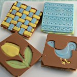 Homemade Spring Chocolate Covered Graham Crackers