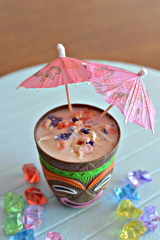 Fruity Pebbles Tropical Crunch Smoothie