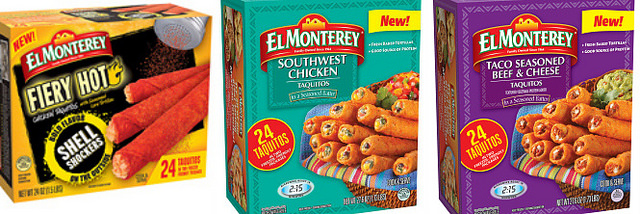 el monterey taquitos packaging
