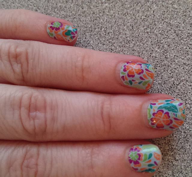 Jamberry Nails - Three Different Directions