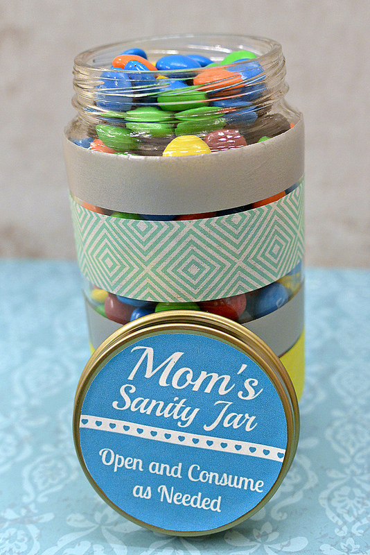 Mom's Sanity Jar Open and Consume as Needed