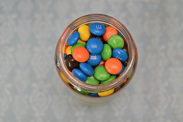 M&M's Mother's Day Treat Jar