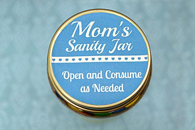 Mom's Sanity Jar Lid