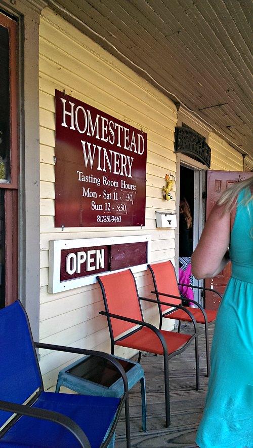 Homestead Winery, Grapevine TX
