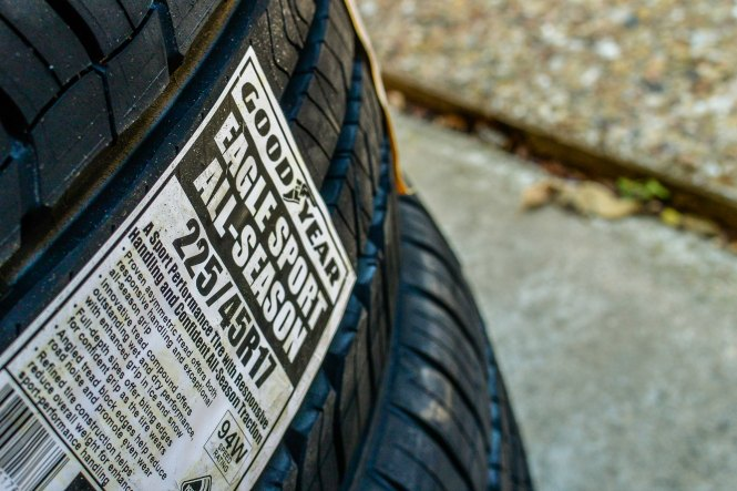 review of goodyear eagle sport all season tires three different directions. Black Bedroom Furniture Sets. Home Design Ideas
