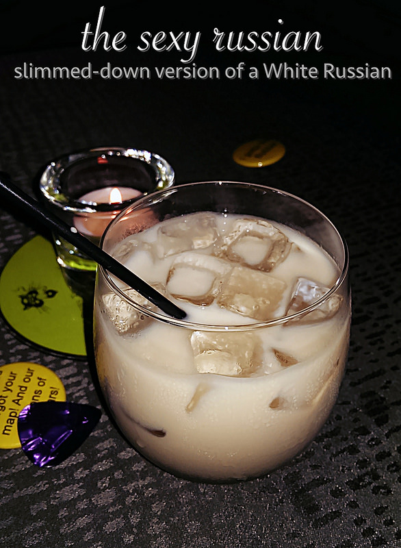 slimmed-down version of a White Russian