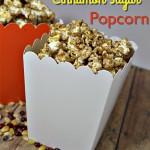 Sweet Cinnamon Sugar Popcorn