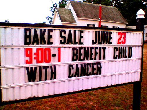 Benefit Child With Cancer