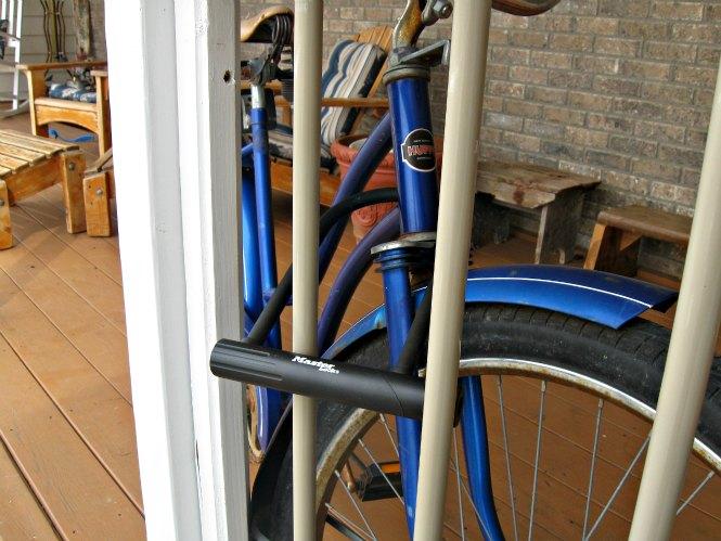 how to make a bike lock