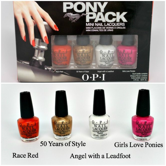 A Few Questions On Survey I Got This Great Pack Of Opi Nail Polishes In Mustang Inspired Colors Can T Wait To Do Mustangmani With These