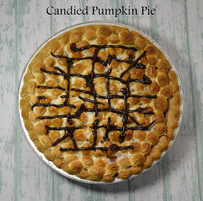 Candied Pumpkin Pie