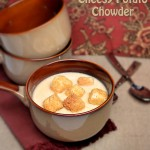 Slow Cooker Cheesy Potato Chowder
