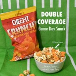 Double Coverage Game Day Snack with Cheez-It Crunch'd