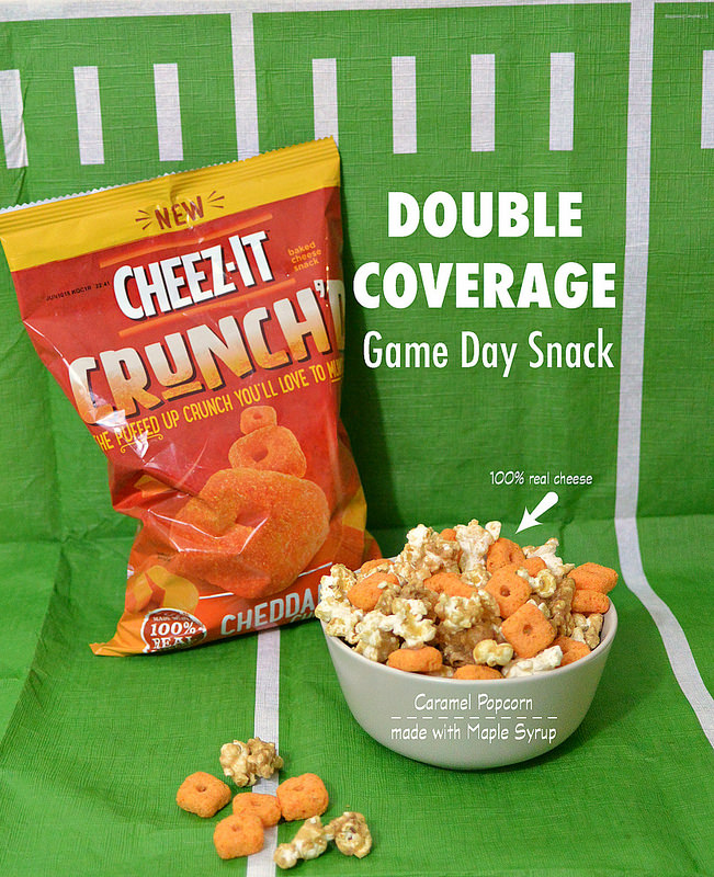 Double Coverage Game Day Snack Cheez-It Crunch'd