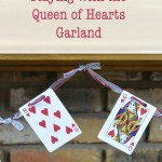 Playing With the Queen of Hearts Garland