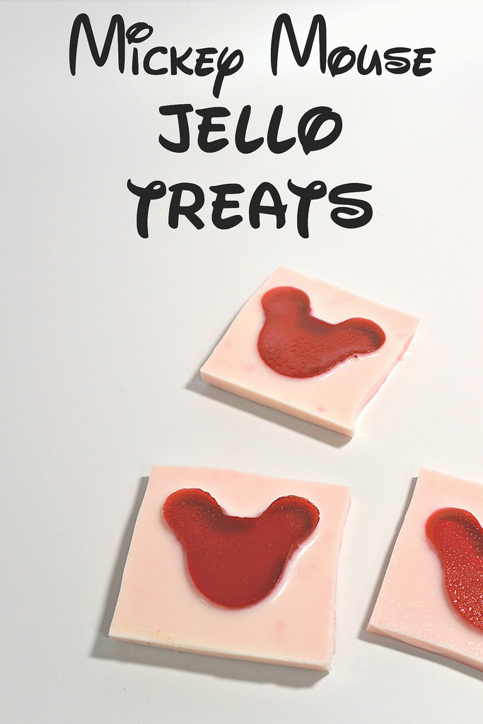 Mickey Mouse Jello Treats
