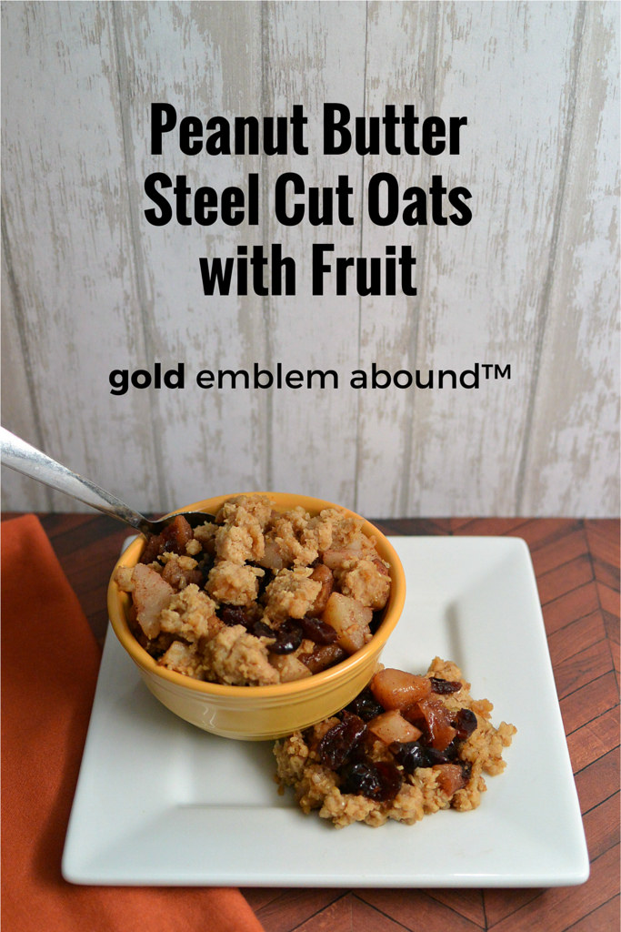 Peanut Butter Steel Cut Oats with Fruit - Gold Emblem Abound-2