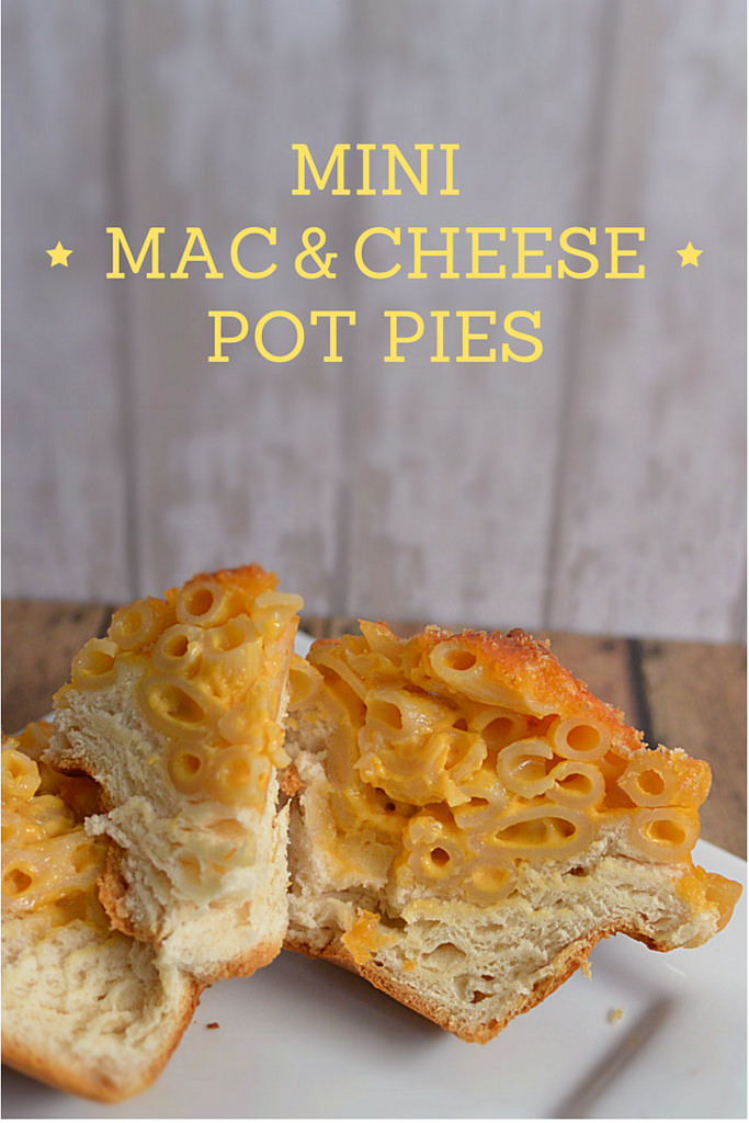 Mini Mac & Cheese Pot Pies - Three Different Directions