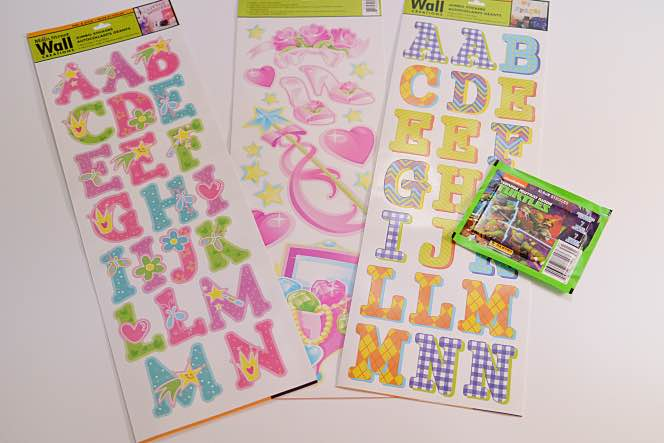 Wall Decor Stickers Dollar Tree : Personalized easter baskets for or less dollar tree