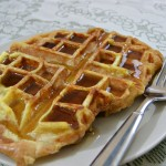 Mother's Day French Toast Waffles Breakfast