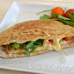 Grilled Muenster Cheese Pita: Because It's Grilled Cheese Month at Market Street