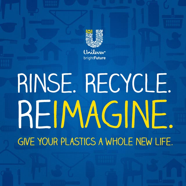 Rinse. Recycle. Reimagine. Give your plastics a whole new life.